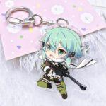 Мастера меча онлайн (Sword Art Online) брелки
