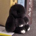 Брелок кролик (18см.) (12 цветов)