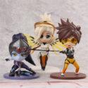 Overwatch — Bundle collection: Widowmaker, Mercy, Tracer / Овервотч — комплект из 3х фигурок: Роковая вдова, Ангел, Трейсер