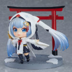Nendoroid 850. Snow Miku: Crane Priestess Ver.