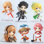 Sword Art Online — Bundle collection 6 items / Мастера меча онлайн коллекция из 6 фигурок