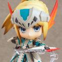 Nendoroid 273. Hunter: Female Swordsman — Bario X Edition Monster Hunter