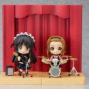 Tainaka Ritsu & Akiyama Mio Live Stage Ver. Set — K-ON! — Nendoroid 101