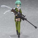 Sword Art Online II Sinon figma 241 / Мастера меча онлайн Синон аниме фигурка