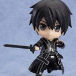 Nendoroid 295. Kirito Sword Art Online / Мастера Меча Онлайн Кирито аниме фигурка