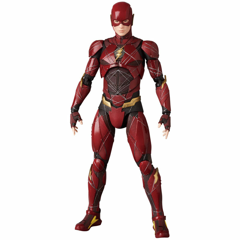 Justice League - Barry Allen - Flash - Mafex No.58