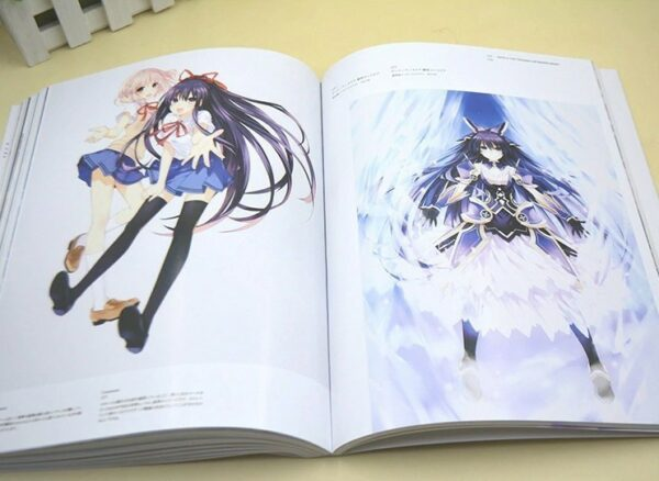 Date A Live - ArtBook Various artworks